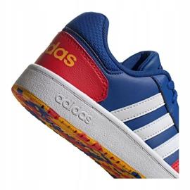 Sapatos Adidas Hoops 2.0 Jr FY7016 azul marinho azul 2