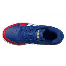 Sapatos Adidas Hoops 2.0 Jr FY7016 azul marinho azul 4