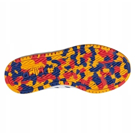 Sapatos Adidas Hoops 2.0 Jr FY7016 azul marinho azul 5
