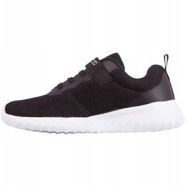 Sapatos Kappa Ces K Jr 260798K 1110 branco preto 1