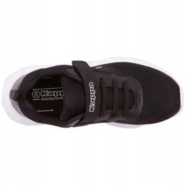 Sapatos Kappa Ces K Jr 260798K 1110 branco preto 2