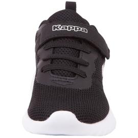 Sapatos Kappa Ces K Jr 260798K 1110 branco preto 4