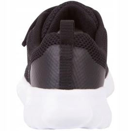 Sapatos Kappa Ces K Jr 260798K 1110 branco preto 5