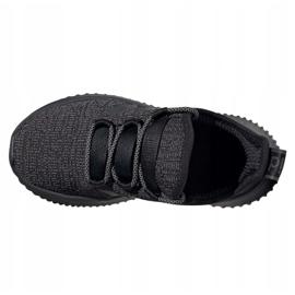 Sapatos Adidas Kaptir Jr EF7243 branco preto 4