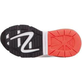 Sapatos infantis Kappa Yero preto-cinza-coral 260891K 1129 vermelho 3