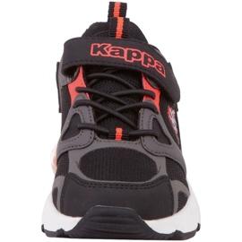 Sapatos Kappa Yero Jr 260891K preto vermelho 4