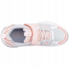 Sapatos Kappa Yero Jr 260891K rosa cinza 1