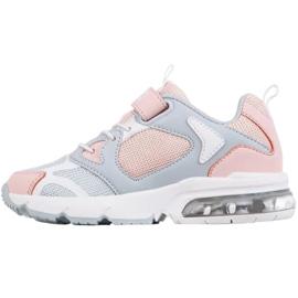Sapatos Kappa Yero Jr 260891K rosa cinza 2