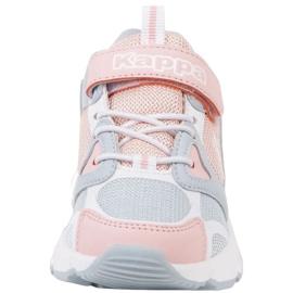 Sapatos Kappa Yero Jr 260891K rosa cinza 4