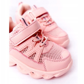 Tênis Infantil Com Solado Iluminado Led Pink So Cool! rosa 2