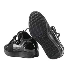 Tênis infantis pretos da Kelli 3