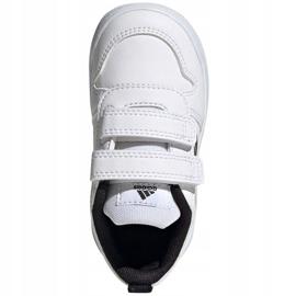 Sapatos Adidas Tensaur I Jr S24052 branco azul marinho 1