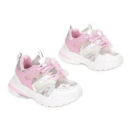 Vices Vícios C-9169-83-branco / rosa 2