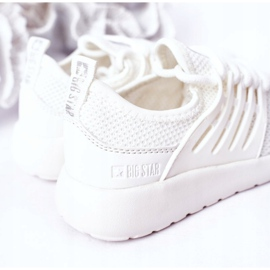 Calçados infantis esportivos tênis Big Star HH374215 branco 1