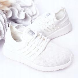 Calçados infantis esportivos tênis Big Star HH374215 branco 5