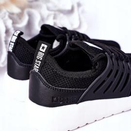 Sapatilhas de tênis infantil Big Star HH374216 preto 4