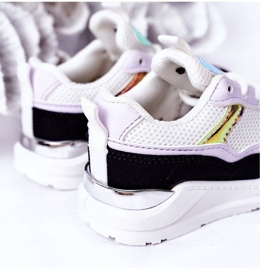 Sapatilhas de tênis para crianças, preto-violeta, hora do jogo branco tolet 1