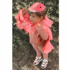 Calçados infantis esportivos tênis rosa néon tempo de jogo branco preto 2