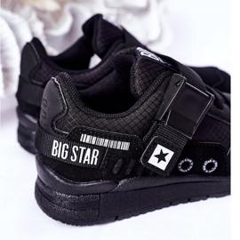 Sapatos esportivos infantis de espuma de memória Big Star HH374164 preto 1