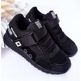 Sapatos esportivos infantis de espuma de memória Big Star HH374164 preto 2