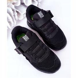 Sapatos esportivos infantis de espuma de memória Big Star HH374164 preto 5