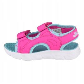 Skechers C-Flex Sandal-Star Zoom Jr 86980N-HPMT azul rosa 1