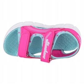 Skechers C-Flex Sandal-Star Zoom Jr 86980N-HPMT azul rosa 2