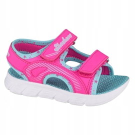 Skechers C-Flex Sandal-Star Zoom Jr 86980N-HPMT azul rosa 3