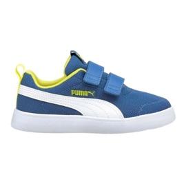 Puma Courtflex v2 Mesh V Jr 371758 07 azul 2