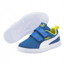 Puma Courtflex v2 Mesh V Jr 371758 07 azul 3
