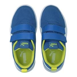Puma Courtflex v2 Mesh V Jr 371758 07 azul 4