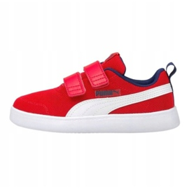 Puma Courtflex v2 Mesh V Jr 371758 06 vermelho 1