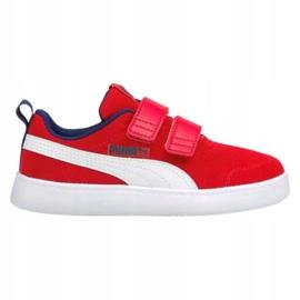 Puma Courtflex v2 Mesh V Jr 371758 06 vermelho 2