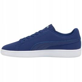 Sapatos Puma Smash v2 Buck Elektro W 365160 37 azul marinho 1
