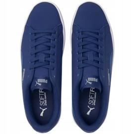 Sapatos Puma Smash v2 Buck Elektro W 365160 37 azul marinho 3