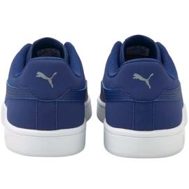 Sapatos Puma Smash v2 Buck Elektro W 365160 37 azul marinho 4
