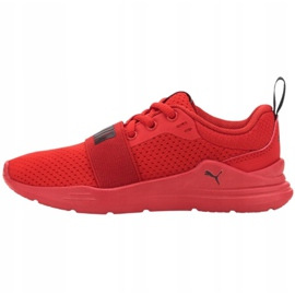Puma Wired Run Jr 374216 05 vermelho 1