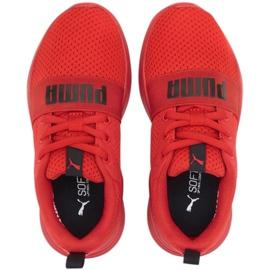 Puma Wired Run Jr 374216 05 vermelho 3