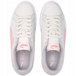 Sapatos Puma Smash v2 Buck Jr 365182 27 branco 3
