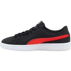 Sapatos Puma Smash v2 Buck Jr 365182 26 preto 1