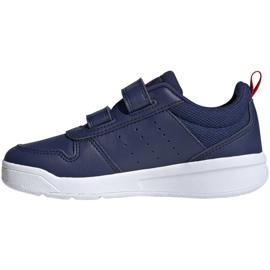 Sapatos Adidas Tensaur C Jr S24050 azul marinho 2