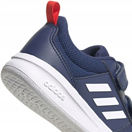 Sapatos Adidas Tensaur C Jr S24050 azul marinho 3