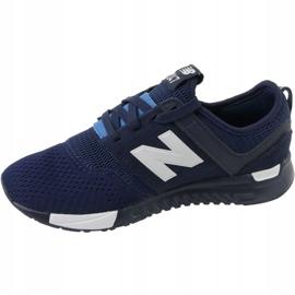 Sapatos New Balance Jr KL247C2G azul marinho branco 1