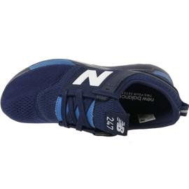 Sapatos New Balance Jr KL247C2G azul marinho branco 2