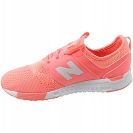 Sapatos New Balance Jr. KL247C7G laranja branco 1