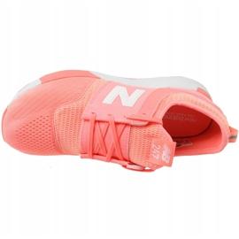 Sapatos New Balance Jr. KL247C7G laranja branco 2