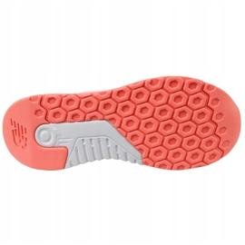 Sapatos New Balance Jr. KL247C7G laranja branco 3