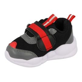 Calçados infantis Befado 516P096 preto vermelho 1