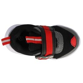 Calçados infantis Befado 516P096 preto vermelho 3