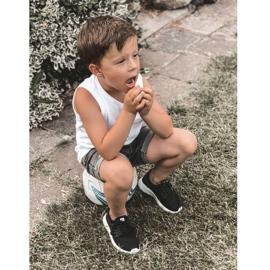 Sapatilhas de tênis infantil Big Star HH374216 preto 6